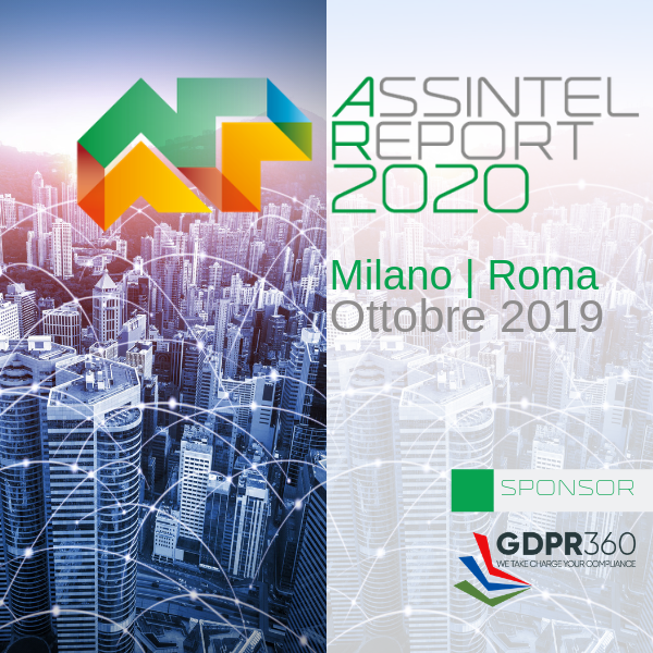 Assintel Report 2020 - GDPR360 Main Sponsor